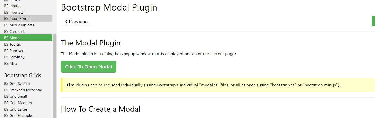 W3schools:Bootstrap modal  short training