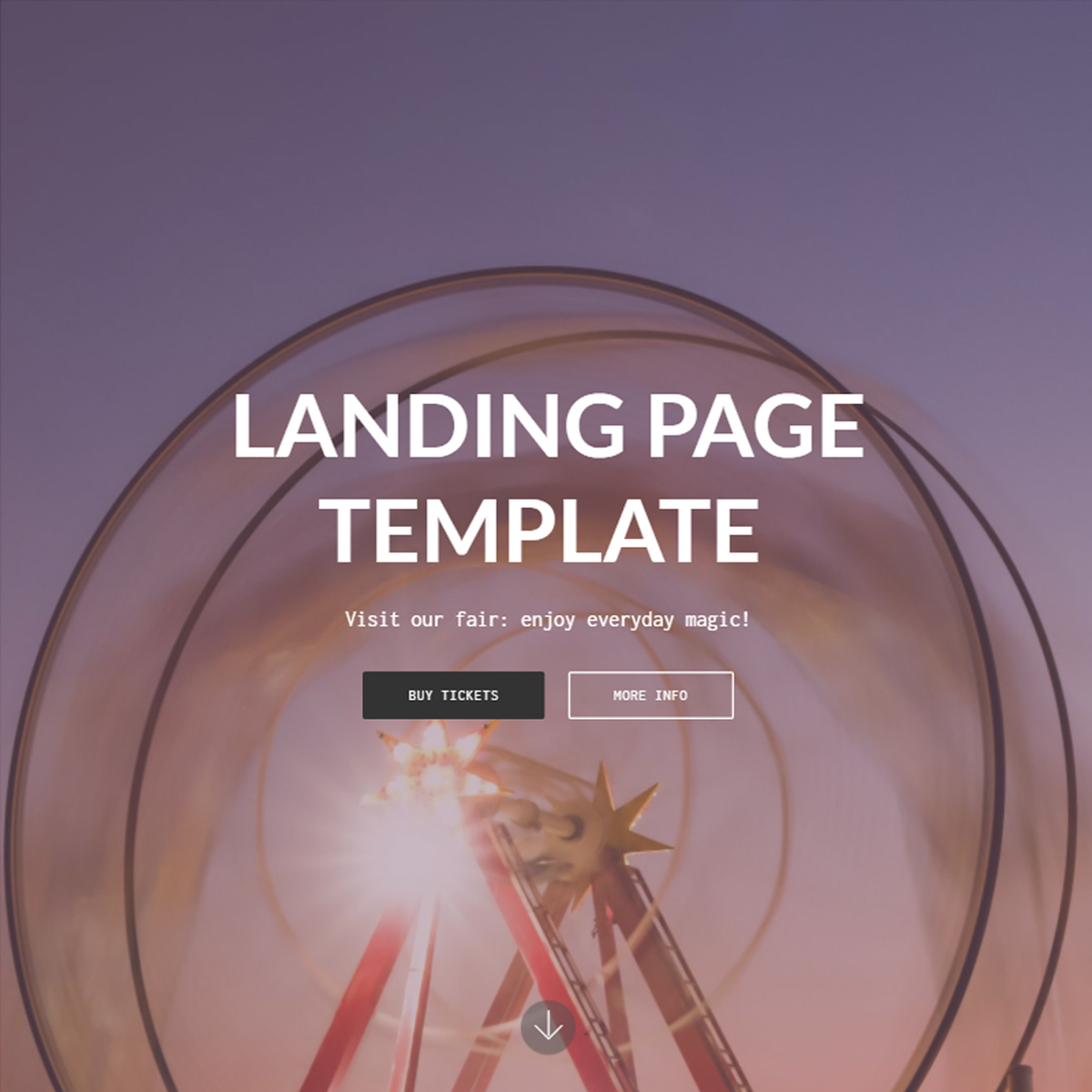 Responsive Bootstrap Landing Page Templates