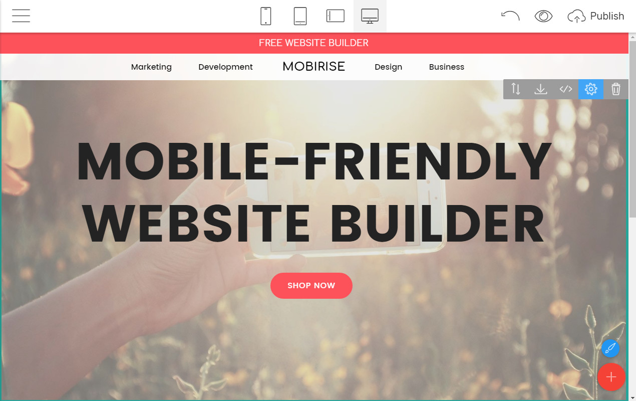 mobile-friendly website builder