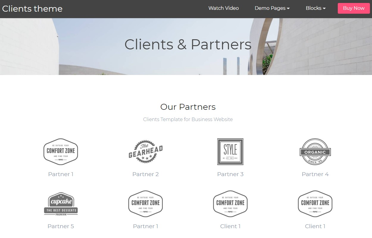Mobile-friendly Clients and Partners