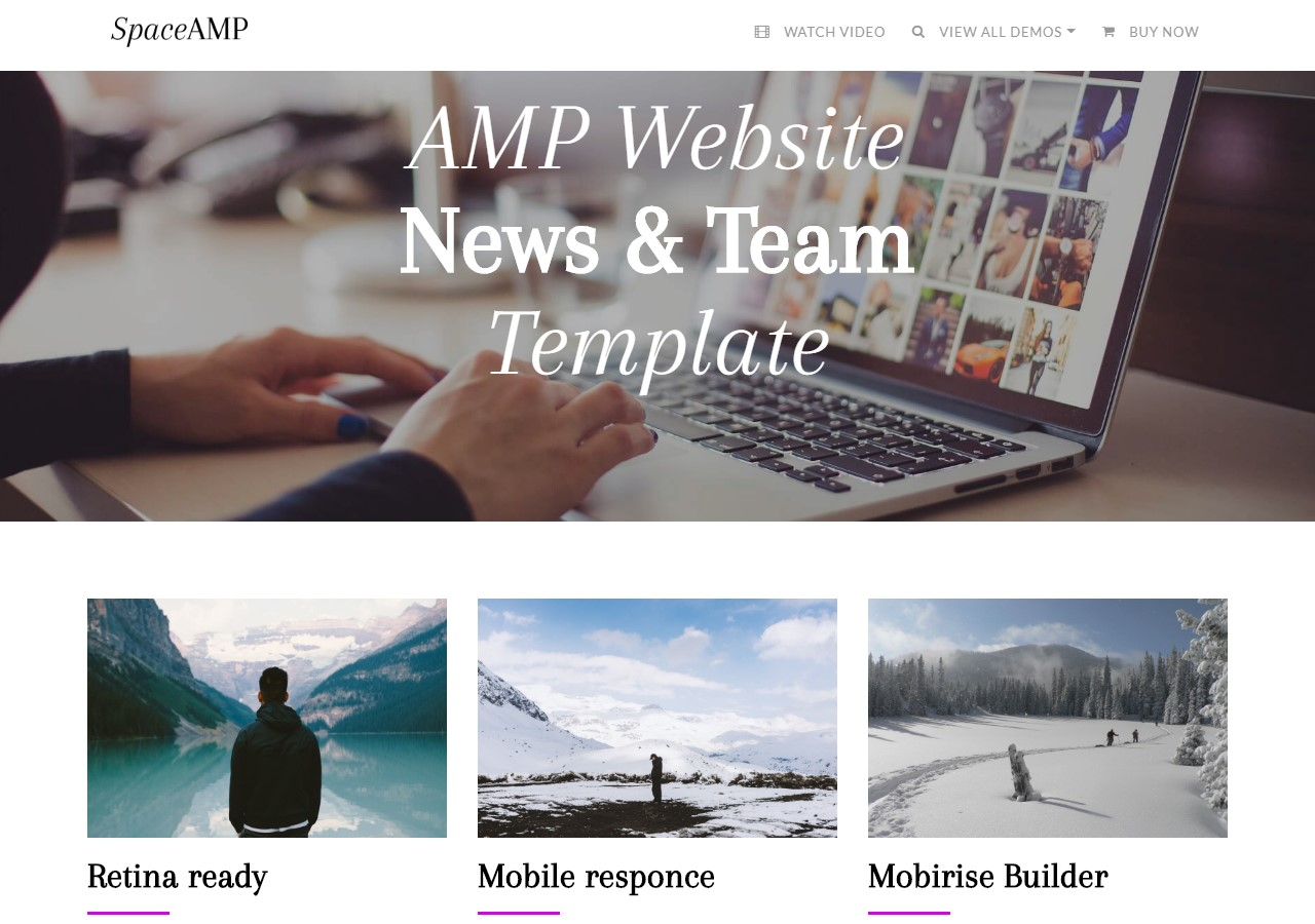 Beautiful HTML Templates