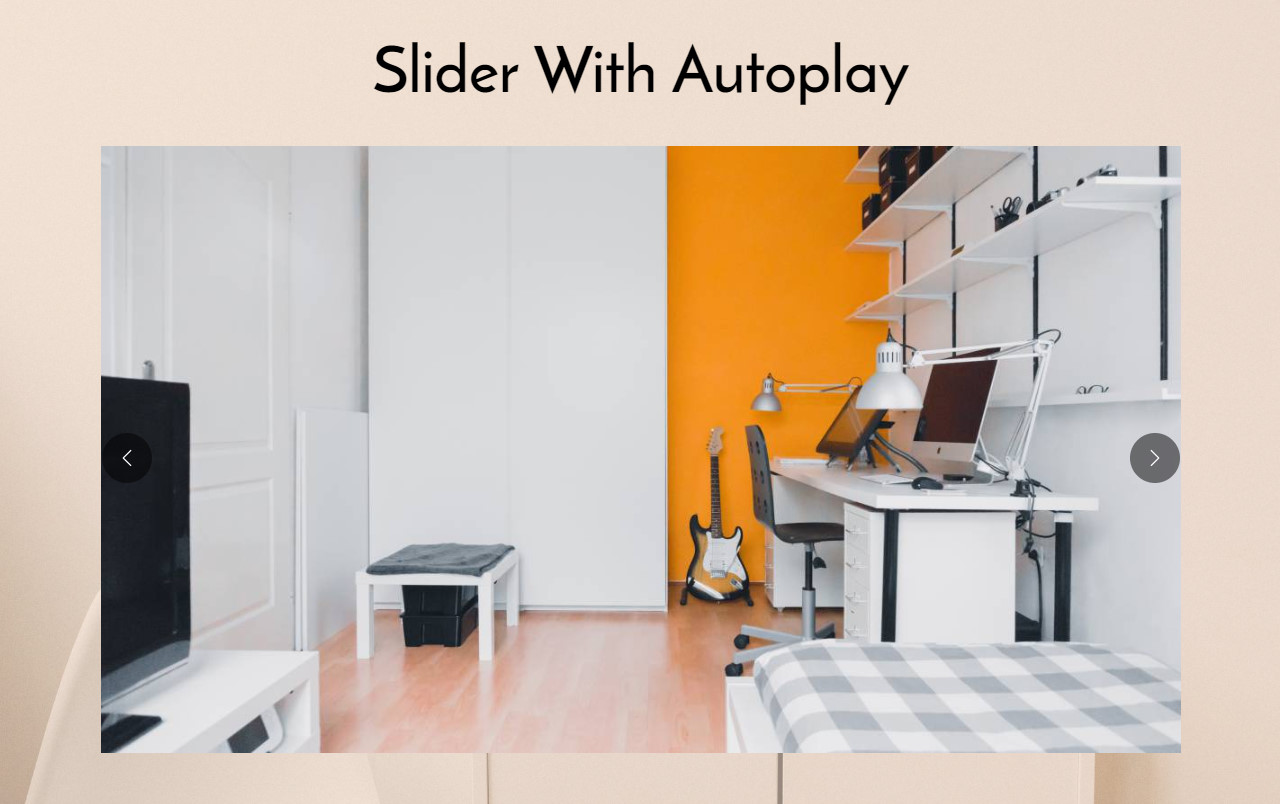 AMP Slider HTML Template