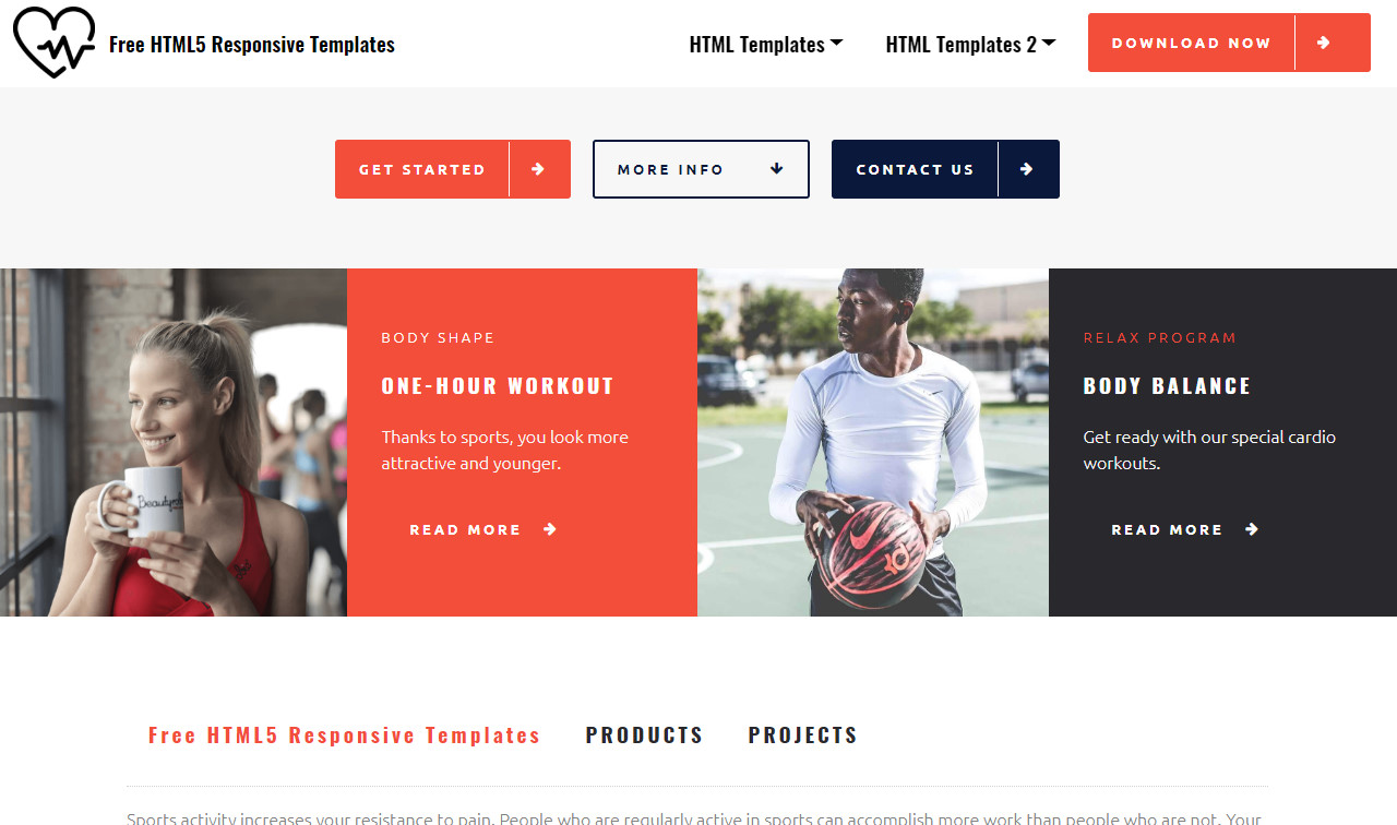 Free HTML5 Responsive Templates