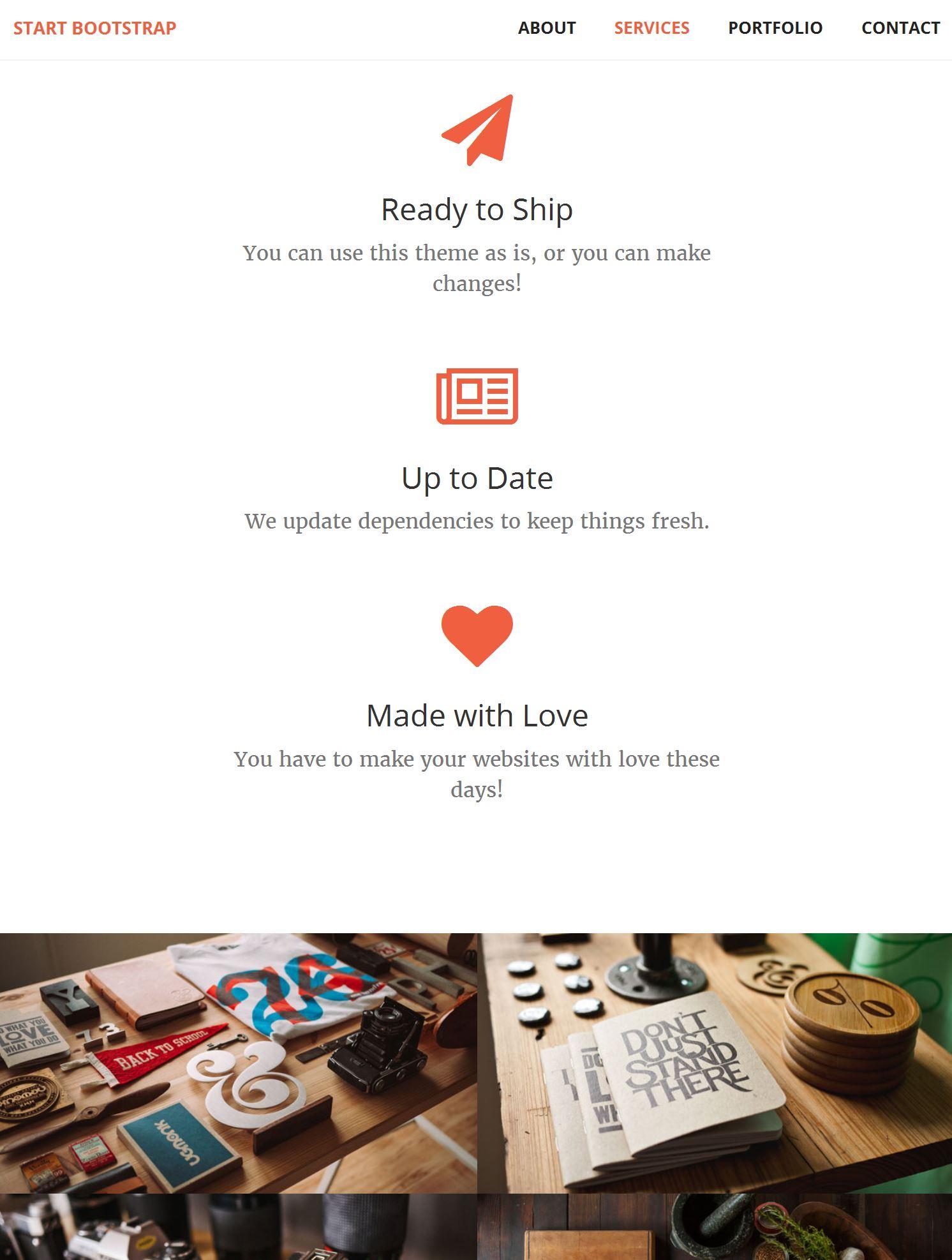 Bootstrap Template Builder