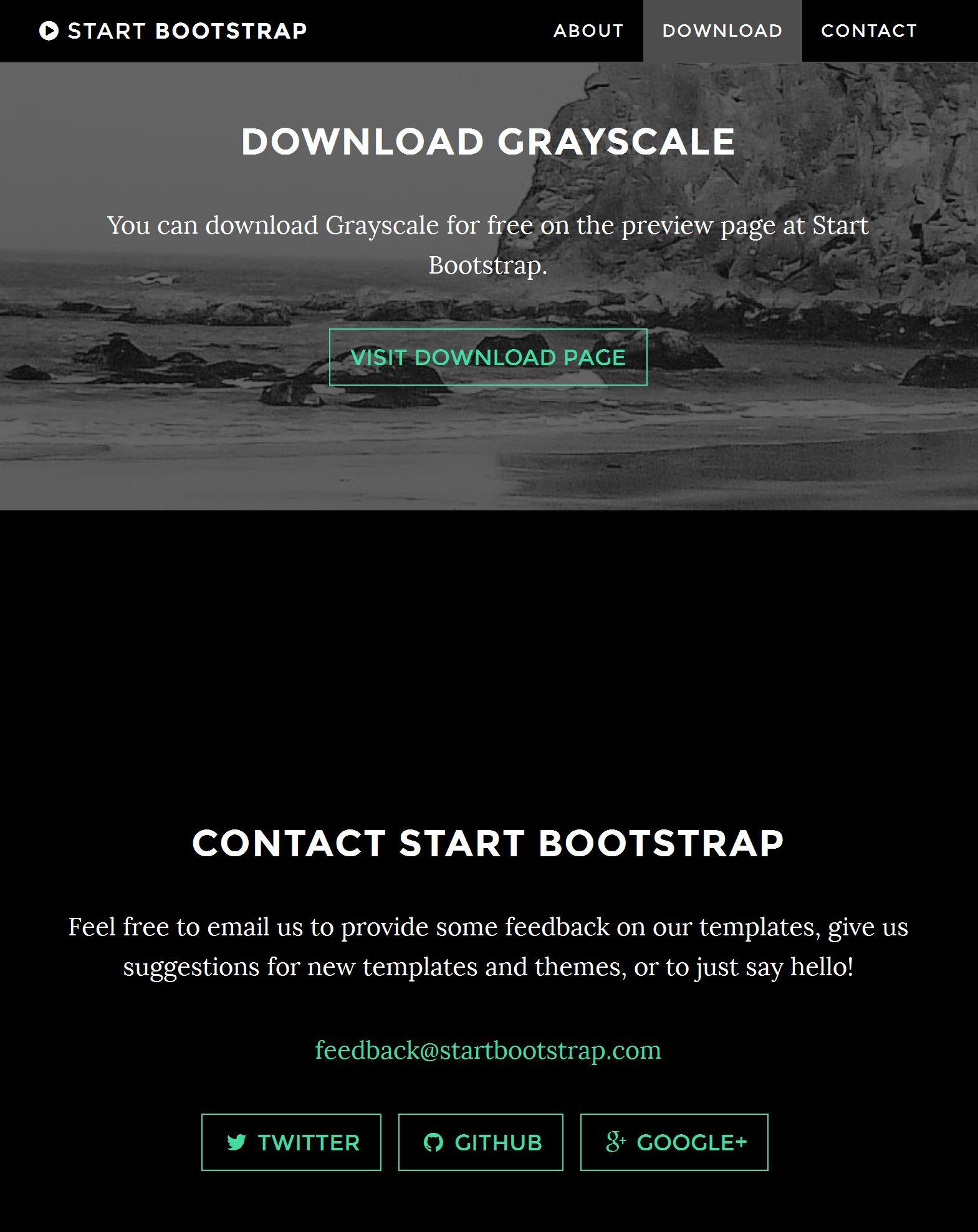 Blog Bootstrap Template