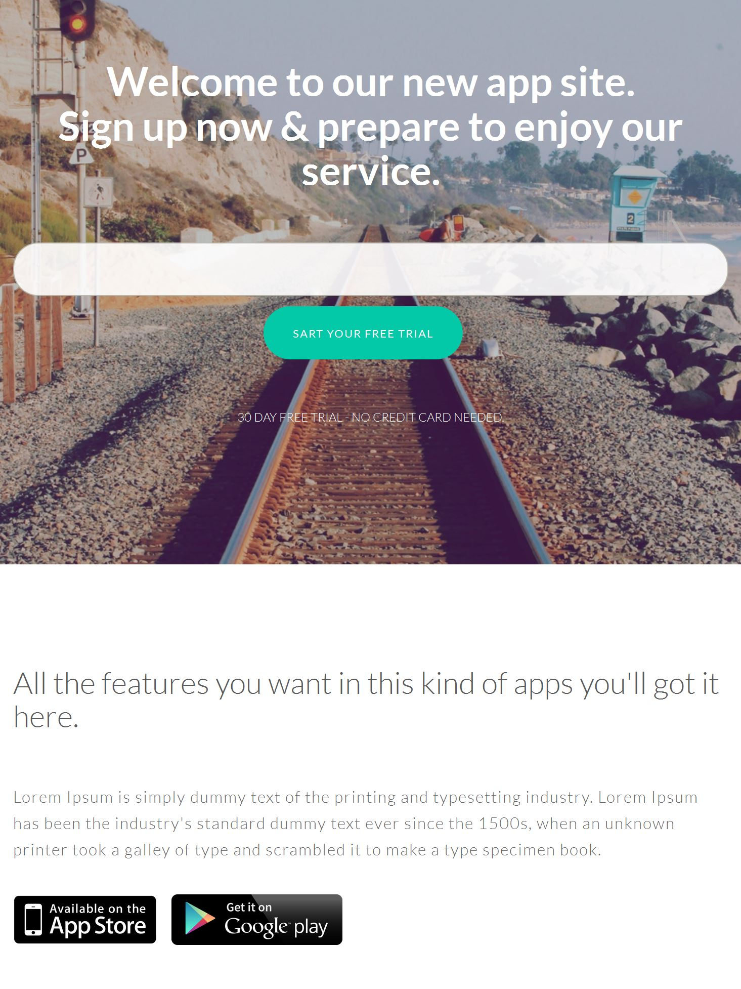 Responsive Bootstrap Template Free