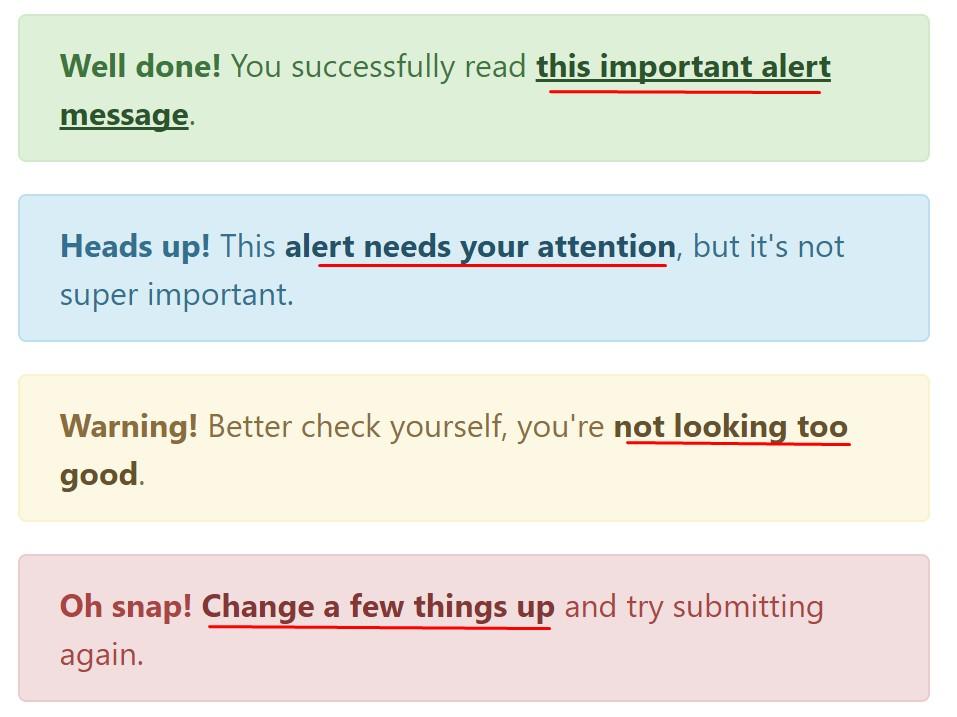 Bootstrap  colour  web links
