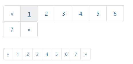 Pagination  Sizes
