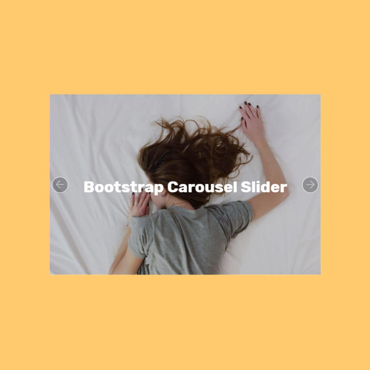 CSS3 Bootstrap Illustration Slider
