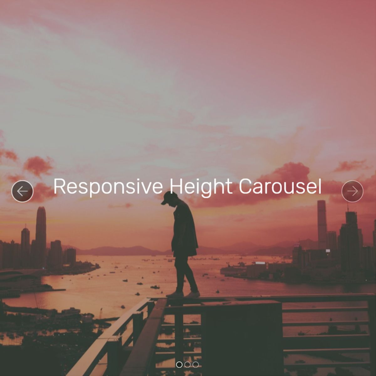 jQuery Bootstrap Picture Carousel