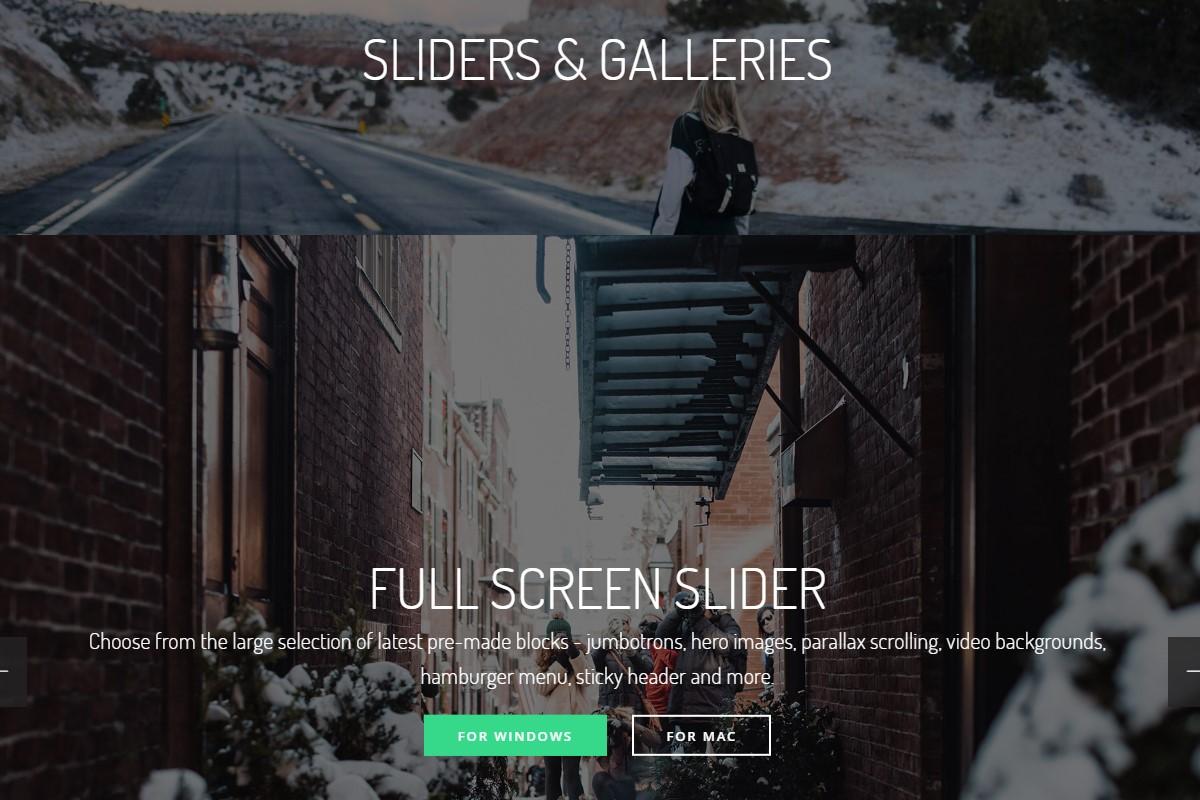 Smart Sliders and Galleries