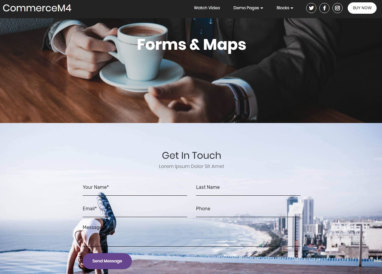 One-Page HTML Templates