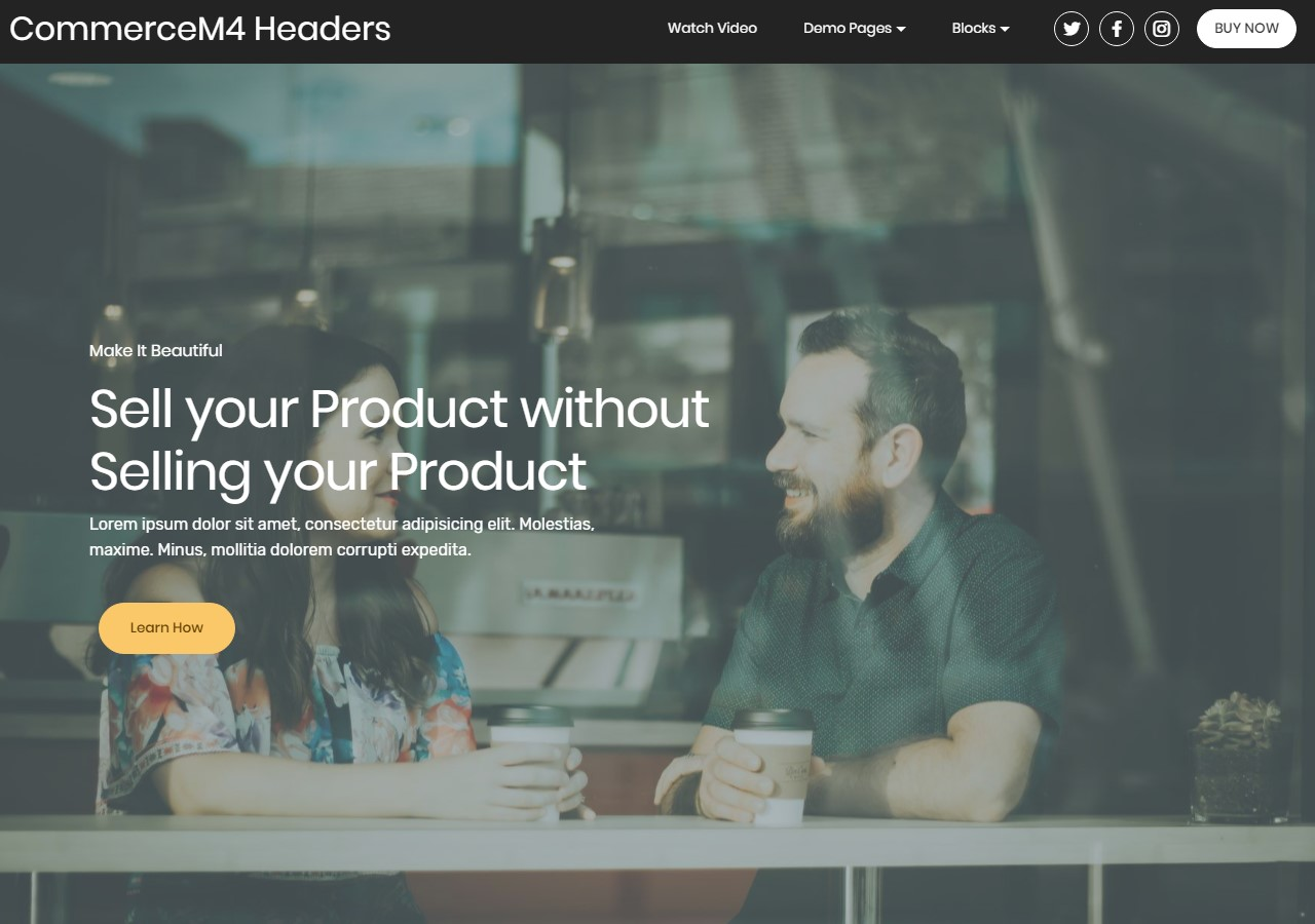 One-Page Bootstrap Templates