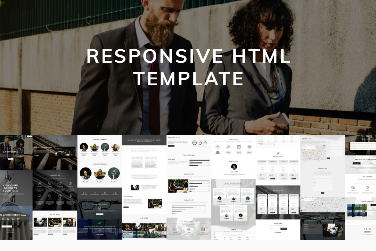 Bootstrap Responsive Template