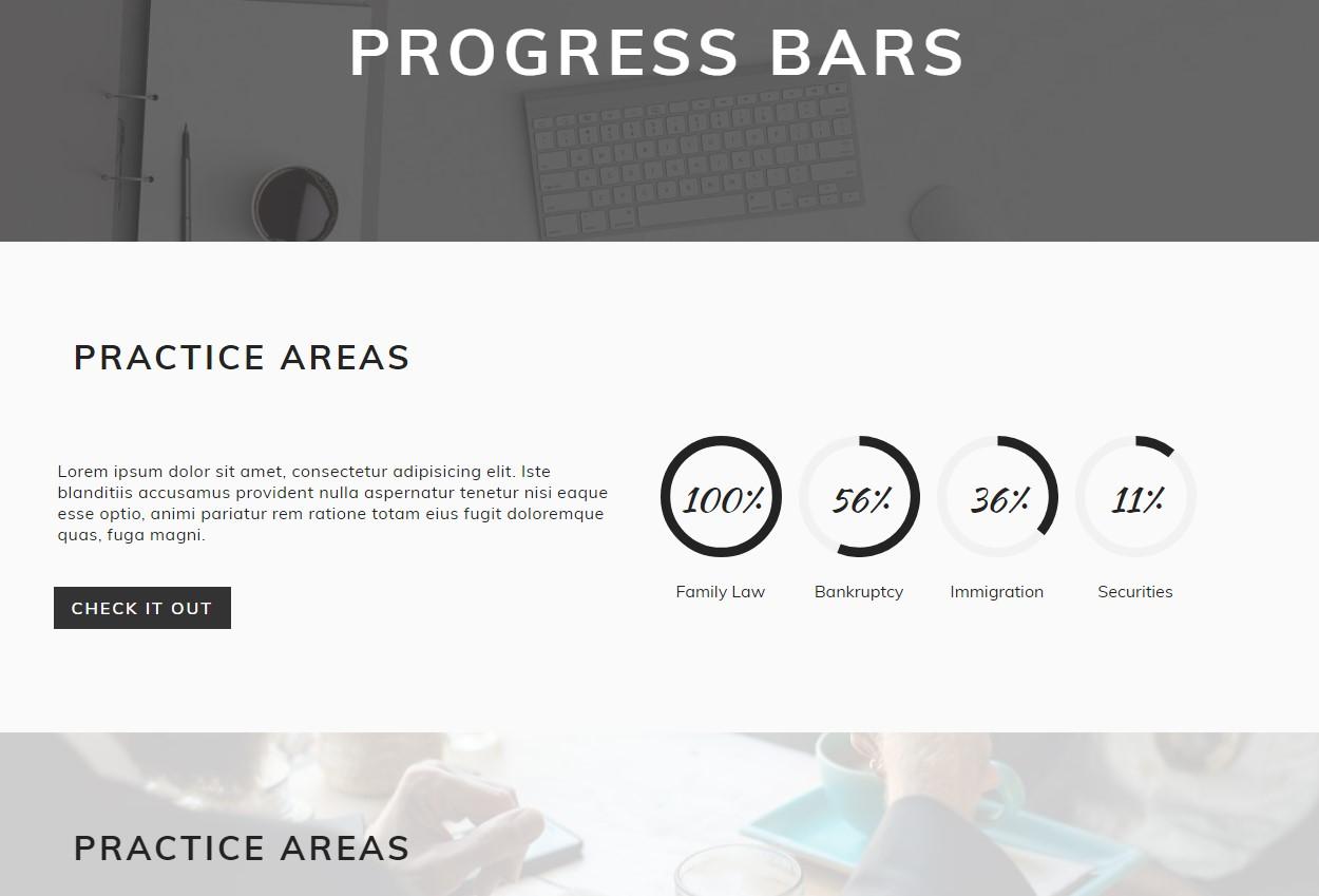 Progress Bars Template