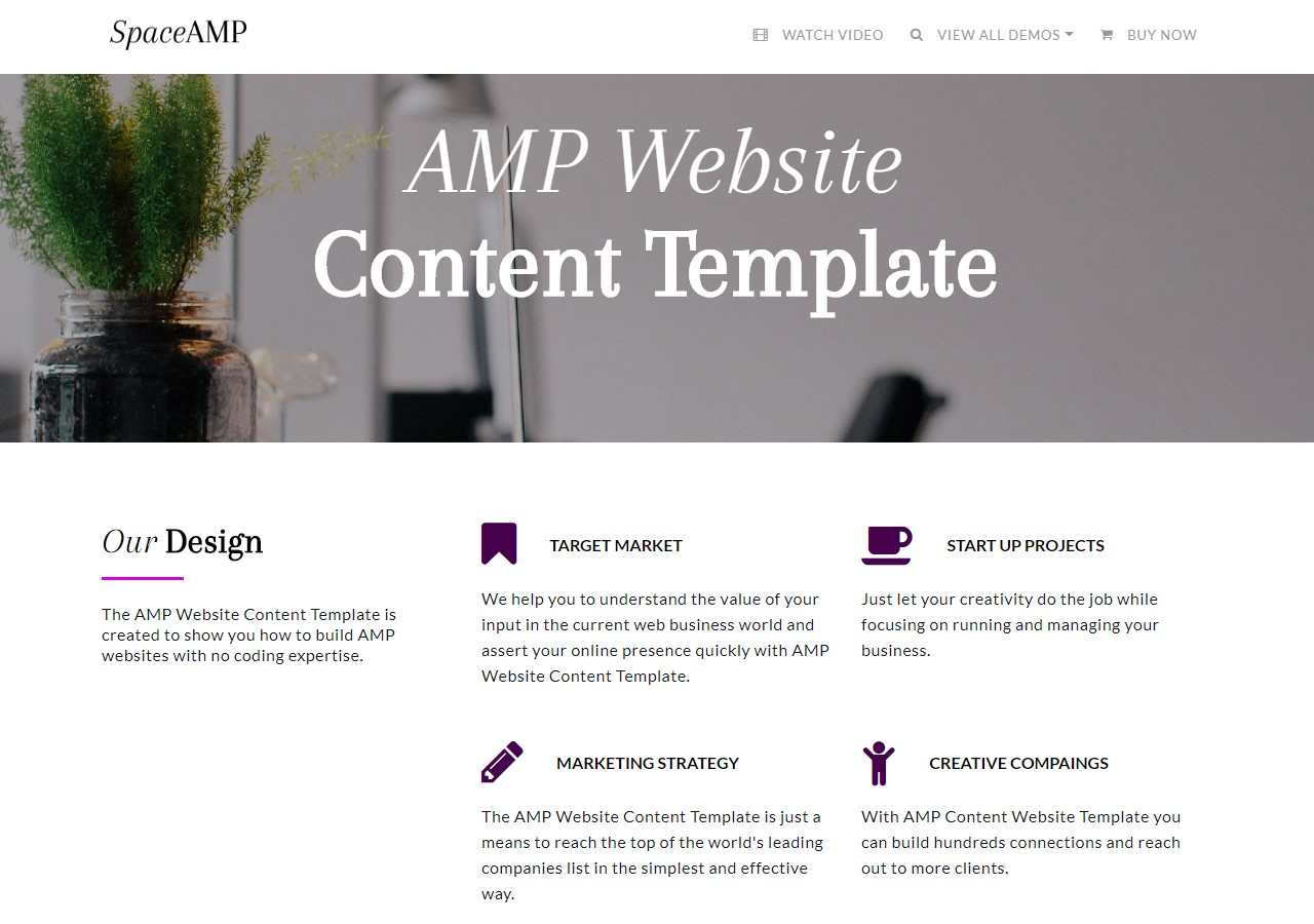 One-Page Responsive Templates