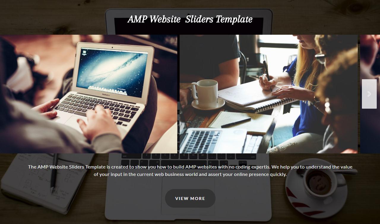 AMP CSS Carousel Example