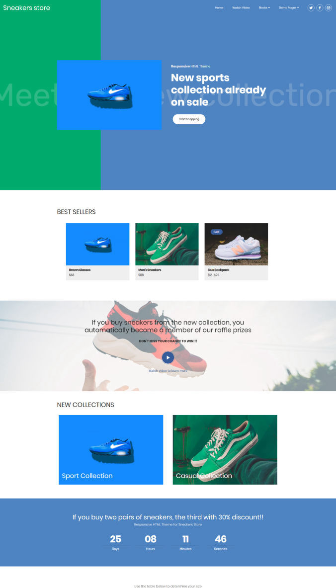 Store Web Template