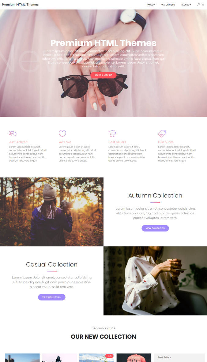 Online Design Template
